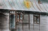 La fée de Westerbork , les baraques, reproduction de qualité, A5