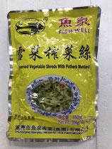 鱼泉雪菜榨菜丝 350g