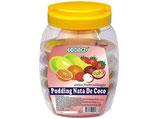 Nata De Coco Dessert,Sortiert(16 Becher) 6 X 1280 G