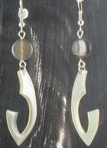 Boucles pendantes doubles