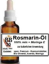 Rosmarin Öl, 30ml Pipette mit Sicherheitsverschluss