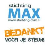 Donatie aan Stichting MAX
