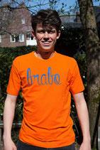 Oranje shirt - Brabo blauw (HEREN)
