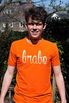 Oranje shirt - Brabo wit (HEREN)