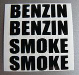 Aufklebersatz SMOKE + BENZIN
