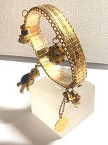 Brazalete de oro de 18k de ocasión