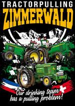"Fan T-Shirt ""Tractor Pulling Zimmerwald"" Kinder"