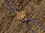 13 Hamsa Silk and Gold