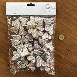50 kleine Holzherz