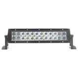 72W Universal 6D LED Light Bar / Off Road Lamp for ATV /         UTV, Dual Row, 34cm