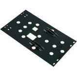 Montageplatte für Schubrahmen