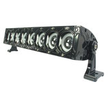 80W Universal LED Light Bar w/ Halo Rings (Angel eyes), 43cm