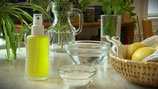 Natron Deospray mit Zitronen  oder mit ätherischen ölen