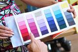 Gutschein für eine persönlichkeitsgerechte Farbberatung inklusive Pers. Stoff-Farbpass