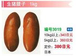 生猪腰子 | 冷凍豚マメ
