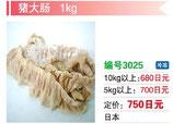 猪大腸 | 冷凍豚大腸(ボイル)