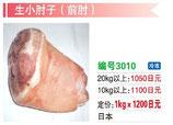 生小肘子(前肘子 ) | 冷凍豚腿 (前足)