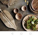 Serviertablett / Küchenbrett /Blatt Mangoholz