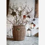 Set Ahorn Blätter aus Papier Mit Goldglitzer Madam Stoltz Grau