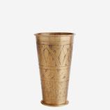 Lassi Becher / Vase  Gold Mit Gravur Madam Stoltz
