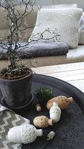 Eichel aus Mangoholz, weiß, Gr.2, IB laursen