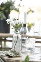 Windlicht/ Vase/ Flasche für Stabkerzen  Mit Metallgeflecht Ib Laursen