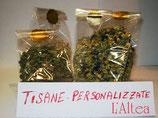 Tisane, tè, infusi: composizioni e personalizzazioni dell'erboristeria L'Altea