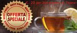 Offerta Tisana: €. 20.00 per 200 grammi di Tisana (iva e spedizione incluse). Composizioni e personalizzazioni dell'erboristeria L'Altea.