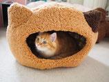 ぬくふかハウス猫型