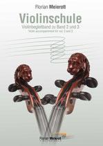 Florian Meierott, Violinschule, Violinbegleitung zu Band 2 und 3