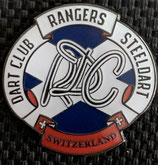 Rangers Dart Club Pin