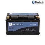 WATTSTUNDE® Lithium 100Ah LiFePO4 Batterie LIX100-D (DIN)