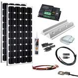 200 Watt Solaranlage mit VOTRONIC MPPT Regler