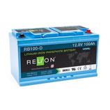 RELion Lithium 100Ah LiFePO4 Batterie RB100-DIN