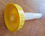 Verschluss Deckel DIN 96 + Ausgießer 200 mm FÜR Kanister