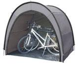 Fahrrad Zelt Garage 200x160x167 cm Beistellzelt in grau mit Boden