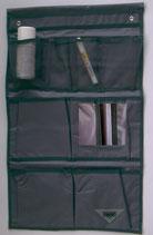 Toilettentasche Utensilien Tasche 8 Fächer grau Hängetasche Organizer