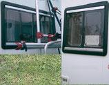 Seitz S-4 Schiebefenster S 4 Fenster Rollo 500 x 450 li. u. re.