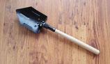 Klappspaten Spaten mit Holzstiel Vorzelt Werkzeug Hacke