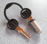 Zylinder 1x und 2 Schlüssel ZADI System Schließzylinder