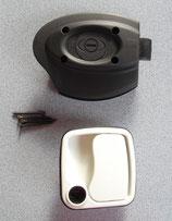 Türschloß weiß ZADI 34-42mm für Wohnmobil Wohnwagen Klappen Türen