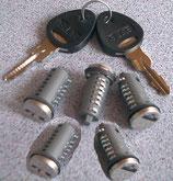 Zylinder 5x und 2 Schlüssel STS Zadi System Schließzylinder