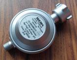Gas Druck Regler 1,0 kg/h Gasregler EN 61 für Grill 29/30mbar