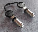 Zylinder 2x und 2 Schlüssel ZADI System Schließzylinder