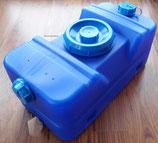 AUSVERKAUFT Wassertank Einbautank Abwassertank Wasser Tank 30 L blau
