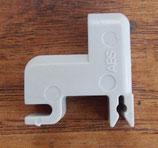 Halter Klammer hellgrau für Elektrolux Dometic Kühlschränke