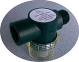 SHURflo Pumpenfilter Schmutz Filter 2x 1/2 Zoll Gewinde Wasserfilter