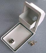Wasser Serviceklappe 40 weiß 2 Schlüssel Trichter Einfüllstutzen Frischwasser