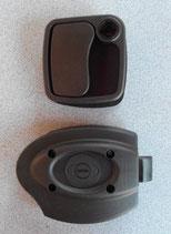 Türschloss schwarz ZADI 25-34mm f. Wohnmobil Wohnwagen Klappen Türen