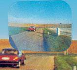 Weitwinkel Sicherheitslinse Linse Rückfahrlinse 25 x 20 cm Tote Winkel